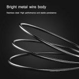 De alta calidad baratos Wholesales Metal fuerte cable de datos USB para Android