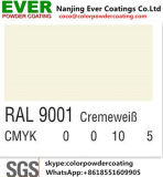 白いRal 9016のトラフィックは光沢の粉のコーティングを半滑らかにする