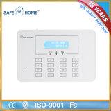 Conveniente sistema inteligente de alarme do LCD para segurança doméstica