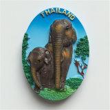 Magneet van de Koelkast van Polyresin van de Gift van de Herinnering van de Vlekken van de Toerist van Peking China 3D