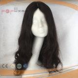 Bella parrucca nera lunga eccellente dei capelli umani