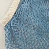 Lavorare a mano il sacchetto di acquisto netto del Crochet, colore di Pms del sacchetto della maglia del cotone