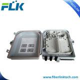 FTTX 4 포트 섬유 광학적인 뚱뚱한 플라스틱 최종 사용자 상자