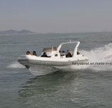 Liya 27FT steife Kabine-aufblasbares Boot Hypalon hergestellt in China