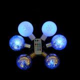 Hotsale bombilla LED de luz de la bola con control remoto