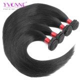 Prezzo all'ingrosso brasiliano dei capelli umani del tessuto dei capelli diritti dei capelli del Virgin superiore del grado 8A