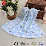 Напечатанный шарж 100% полиэфира супер мягкий и одеяло младенца жаккарда