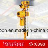 Gru Chain elettrica di Vanbon 5ton con il carrello motorizzato