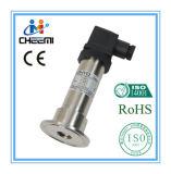Transmissor de pressão sanitárias com a braçadeira para a ocasião de Medição de Pressão Baixa
