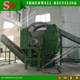 De dubbele Maalmachine van de Schacht voor het Recycling van Hout/Band/Metaal
