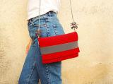 Мешок красного цвета тела креста сумки портмона Vegan Crossbody