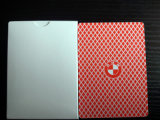 Hülsenpapier-/Plastic/Poker-Karten des Kasino-310gms /Barcode-Spielkarten der schwarzen