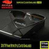 3016 óculos de sol revestidos do estilo retro do frame do Tr