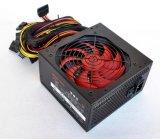 신식 220V 탁상용 마이크로 컴퓨터 ATX 스위치 최빈값 전력 공급 700W