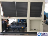 Refrigerador industrial refrescado aire del refrigerador de agua del refrigerador del tornillo para la industria química