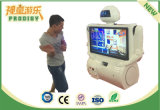 Máquina de interactivos de simulación de Kung-Fu Robot máquinas de juego para niños