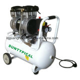 Compresseur d'air silencieux exempt d'huile