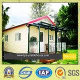 Limpio y verde de la casa prefabricados