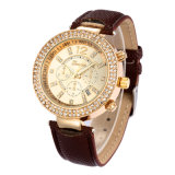 제네바 시계, Relojes Mujer 손목 시계, 여자 복장 시계, 다채로운 결박 시계 (DC-374)