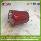 Haut de la qualité d'effet Electroplate bougeoir avec l'impression (H015)