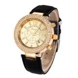 Vigilanze di Ginevra, orologio di Relojes Mujer, vigilanza del vestito dalle donne, vigilanza variopinta della cinghia (DC-374)