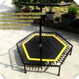 Trampolim de salto de corpo adulta / Super Jump Trampolim com um trampolim completo de cinta / Bungee
