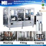 Máquina de rellenar del agua automática/línea del embotellado