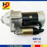 мотор стартера двигателя 24V 11t 6D14 для Мицубиси