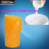 Silicones liquides résistants d'acide et d'alcali pour des moulages de bougies