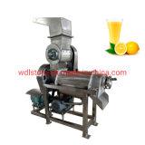0.5T/H en acier inoxydable vis simple ou double, appuyez sur la machine de l'extracteur de jus de fruits de la mangue