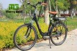 Vélo électrique de la crémaillère 36V 10ah de batterie au lithium de moteur arrière de pivot