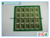 Immersion en masque vert multicouches. PCB d'or