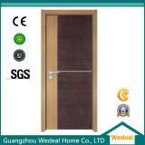 Núcleo sólido de MDF melamina portas interiores em madeira