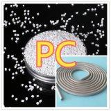 Weiße Polycarbonat-Plastikkörnchen