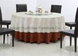 Mesa de jantar dobrável em metal com mesa de PVC