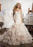 2017 Volante Por la tarde parte de la Prom vestidos de novia CT711