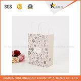 Мешок случая упаковки Shpping Handbagscosmetic несущей рождества напечатанный бумагой
