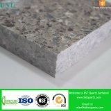 Pedra artificial cinzenta de Qaurtz para fornecedores da bancada da cozinha
