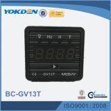 Medidor de Digitas Volatge do gerador de Gv13t com as teclas do giro de página