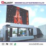 Schermo di visualizzazione del LED del camion per la pubblicità mobile, tabellone per le affissioni mobile del LED