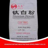 Pigmento de dióxido de titânio quente para borracha e plástico