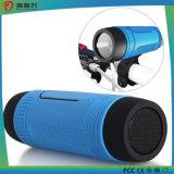 Folâtre le haut-parleur de bluetooth de bicyclette de vélo avec l'éclairage LED de côté de pouvoir pour extérieur