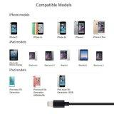 Молния аттестованная MFI к кабелю USB