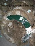 PVC上塗を施してある鉄ワイヤーコイルか結合ワイヤー