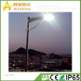 주차 거리를 위한 새로운 60W IP65 쉬운 임명 Intatreted 태양 점화