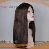 Menschenhaar-schöne freieste weiße Haut-Frauen-Perücke 100%