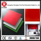 Los paneles de pared de HPL laminado de alta presión de la Junta de laminado compacto de la junta