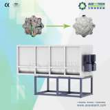 Plastikaufbereitenwaschmaschine 2000kg/H für schmutzige Haustier-Flocken