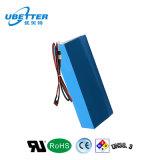 60V 20Ah recargable de iones de litio batería LiFePO4 Batería para el vehículo eléctrico