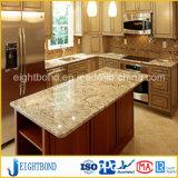 美しいデザイン石の大理石の台所のためのアルミニウム蜜蜂の巣のパネル